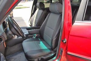 BMW 5 SERIES 1996-2003 E39 IGGEE S.LEATHER CUSTOM FIT SEAT COVER 13 COLORS