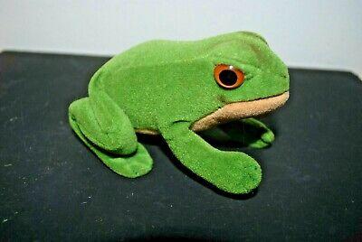 Steiff Velvet Frog late 1960s ?
