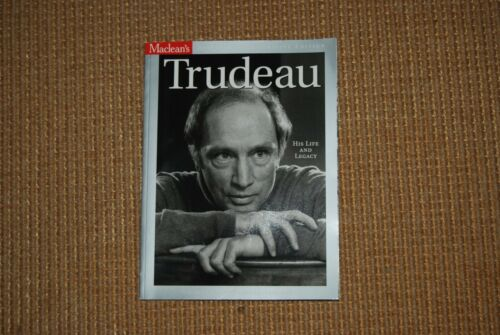 Canada Macleans 2000 Trudeau Memorial Issue