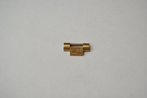 ORIGINAL ROLEX PRESIDENT BARK FINISH LINK 18K GOLD 16mm