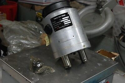 Sugino 2td-am1e Twin Tap Head Fixed Axial Pitch Drill Head Used