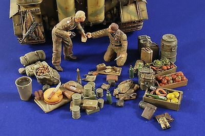 VERLINDEN PRODUCTIONS #2776 WWII German Tankers Camping Grounds in 1:35