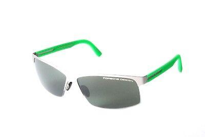 Porsche Design P8561E Titanium Matt Silver Grey Sunglasses