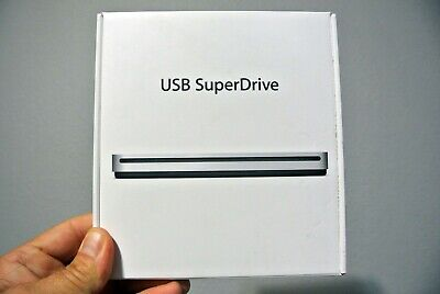 APPLE USB SUPERDRIVE MD564ZM/A CD CDR CDRW DVD DVDR DVDRW DUAL LAYER NEW