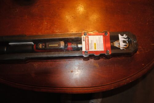 """Craftsman 913918 3/8"""" Drive Digital Torque Wrench 5-80 Ft. Lbs"""