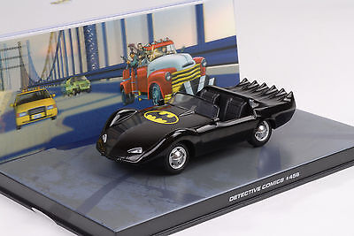 Movie Car Batman #456 Detective Magazine Series Comics Model 1:43