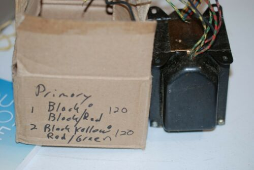 Heavy Tube Amplifier Power Transformer- NOS Two Available