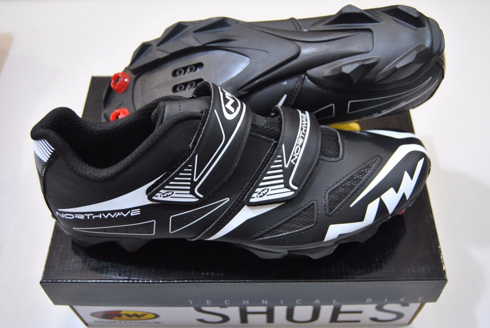 Scarpe NORTHWAVE MTB SPIKE EVO Black/SHOES NORTHWAVE SPIKE EVO BLACK