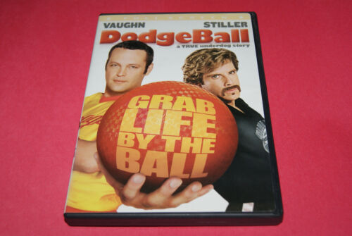 Dodgeball: A True Underdog Story DVD + FREE SHIPPING! Help BCR Blind Cat Rescue!