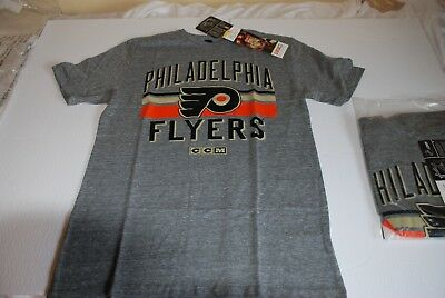 4793c7683 NHL Philadelphia Flyers CCM Vintage Style CCM T Shirt Medium