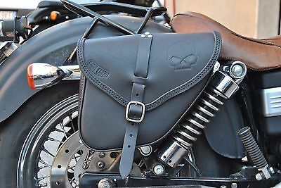SADDLE BAG RIGHT HARLEY DAVIDSON DYNA MODELS WE GARANTEE  BEST ITALIAN QUALITY