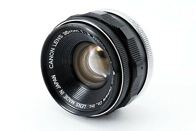 【Excellent+】 Canon 35mm f/2 f 2 Leica L Screw Mount MF Lens from JAPAN - 4714