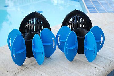 Aqualogix Total Body Bundle - All Purpose Aquatic Bells & Max Resistance Fins