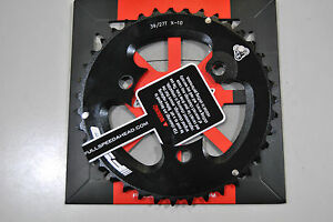 Corona-FSA-AFTERBURNER-386-39T-BCD-86mm-10V-2x10-Comp-Sram-CHAINRING-AFTERBUR