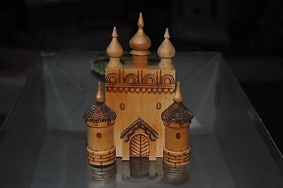 Vintage Russian Wood Church