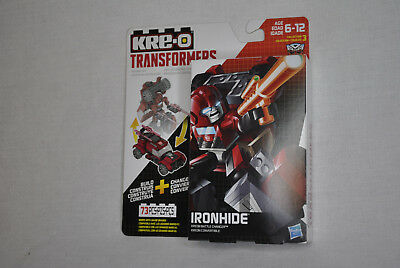 NEW/SEALED Kre-O Transformers IRONHIDE KREON BATTLE CHANGER -73 Pieces Hasbro