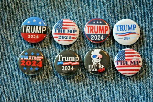 """Donald J TRUMP 2024 Pin Pinback Button 1"""" I"""