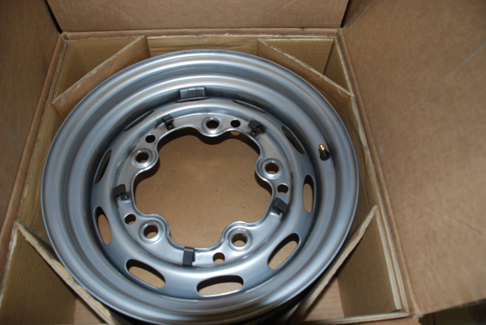 Porsche 356A/B Painted drum Brake Wheel 15 x 5 1/2