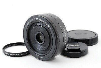 Canon EF-M 22mm f/2 STM Lens fro EOS M M2 M3 [Near Mint] From Japan #15130