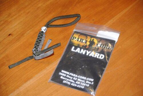 Para Cord Lanyard made with parachute cord