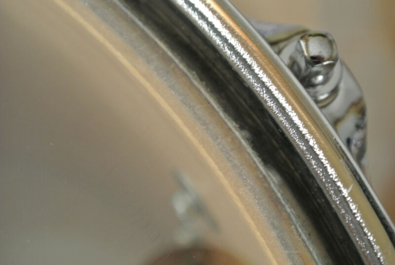 "1990 LUDWIG 12"" SUPER CLASSIC TOM in CHARCOAL SHADOW for YOUR DRUM SET! #Z575"