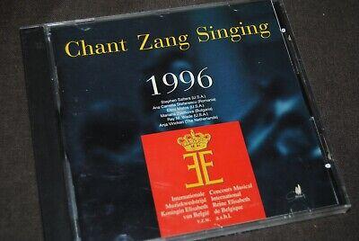 CONCOURS MUSICAL REINE ELISABETH DE BELGIQUE 1996 - CHANT / CD - CYP9601