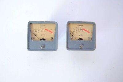 Vtg Olson Radio Plastic Meter Me-110 Uv Meters Made In Japan