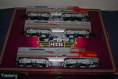 MTH Premier 20-20311-1 Santa Fe Alco PA ABA Diesel Set w/ Proto-Sound 3.0 **