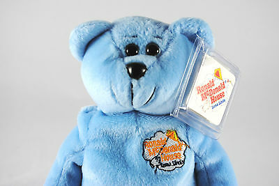 USA RONALD McDonald House Collectable Beanie Bear in Loma Linda Livery