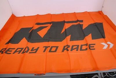 "3PW1771500 KTM Flag Flagge ""Ready To Race"""