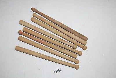 C180 JOUET ANCIEN - ensemble de pieces de bois de batterie