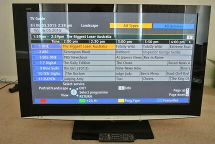 "Panasonic 42"" Plasma full HD TH-42PZ800A + Remote Oakhurst Blacktown Area Preview"