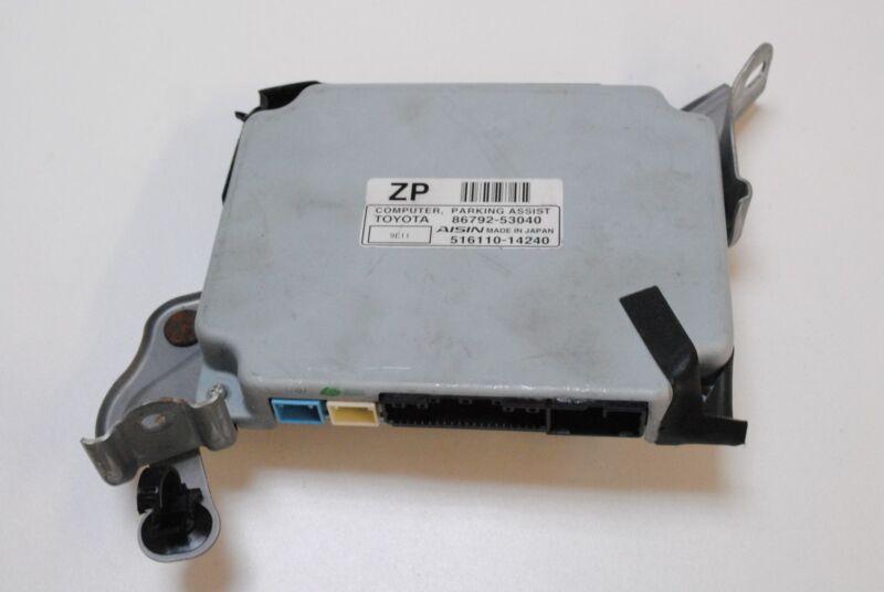 LEXUS IS 250 2010 RHD PARKING ASSIST CONTROL COMPUTER ECU 86792-53040