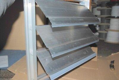 Greenheck Vertical Aluminum Damper Em-10 18x18 For Industrial Hvac