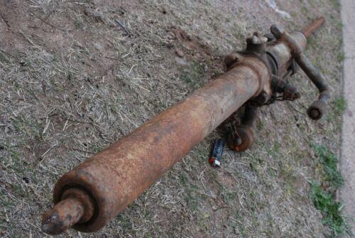Antique mining drill Copper Queen Mine Bisbee Arizona