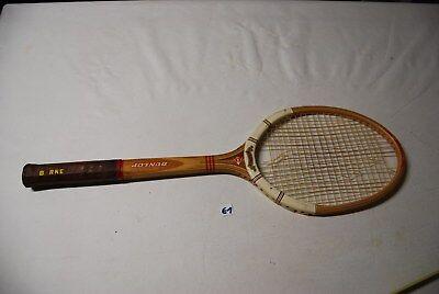 E1 Ancienne raquette Dunlop Vintage