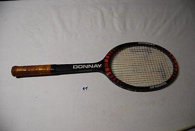 E1 Ancienne raquette Donnay vintage