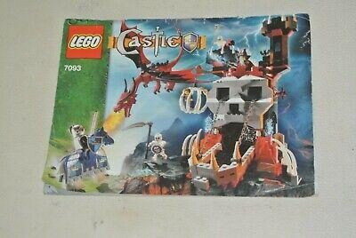 LEGO Castle: Instructions Manual - Set 7093 Tour Of Skeletons