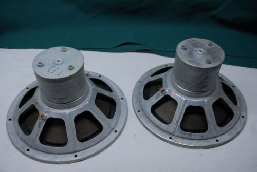 pair of rare philips 10 inch woofers  alnico