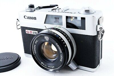 🌟 Mint 🌟 Canon Canonet QL19 GIII 35mm Rangefinder Film Camera from Japan