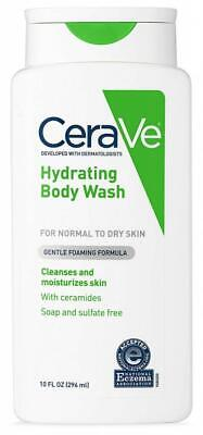 CeraVe Body Wash Dry Skin Moisturizing Hyaluronic Acid Sulfate Fragrance Free