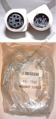 (75ft PS2 6pin DIN Male~Female Extension Cable/Cord/Wire Mouse/Keyboard/KVM)
