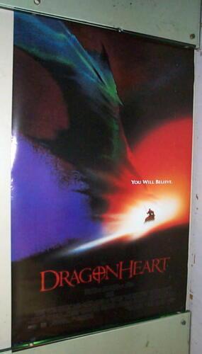 DRAGONHEART Vintage 1996 Movie Poster LAST ONE