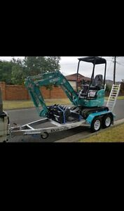 Kobelco 1.7T Mini Excavator for Dry Hire South Morang Whittlesea Area Preview