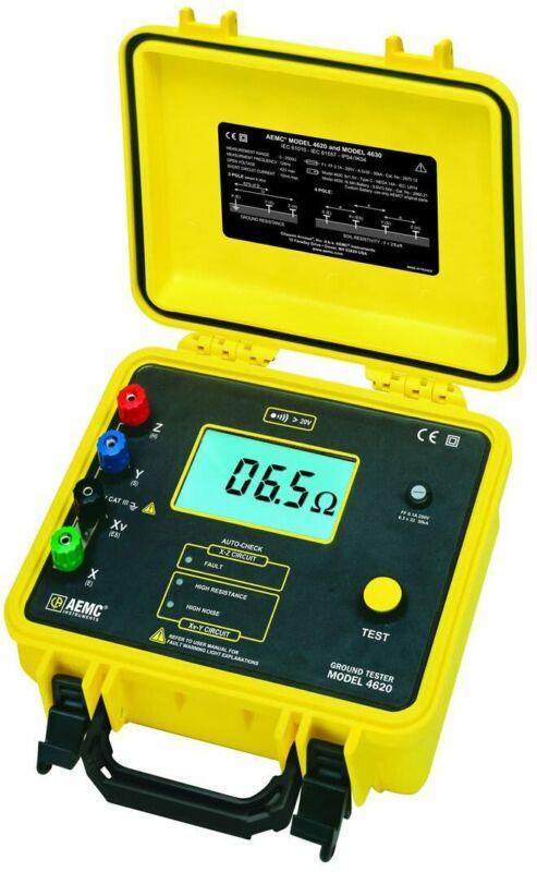 AEMC 4620 2130.43 Model 4620 Ground Resistance Tester (Digital, 4-Point)