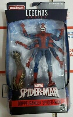 "DOPPELGANGER SPIDER-MAN Marvel Legends MOLTEN MAN BAF 6"" Figure Far From Home"