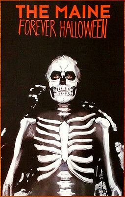 The Maine Forever Halloween Poster (THE MAINE Forever Halloween Ltd Ed Discontinued RARE Poster+FREE Punk Emo)
