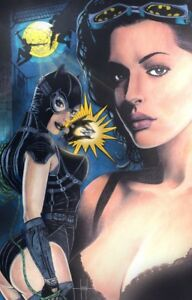 CATWOMAN POSTER PRINT BATMAN JOKER MS. MARVEL HARLEY JLA Suicide CHEESECAKE