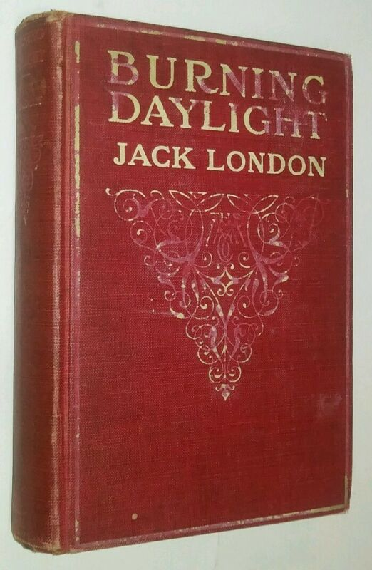 Burning Daylight Jack London Sled Dogs Malamutes Yukon Territory 6th PRT 1913