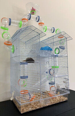 Large 5-Floor Top Watcher Hamster Habitat Rodent Gerbil Rat